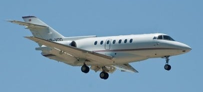 Hawker 1000 Exterior - Private Jet Charter