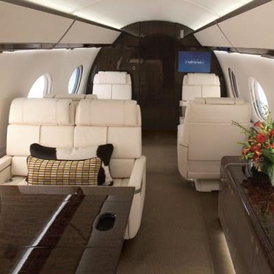 Gulfstream G650 Interior - Private Jet Charter
