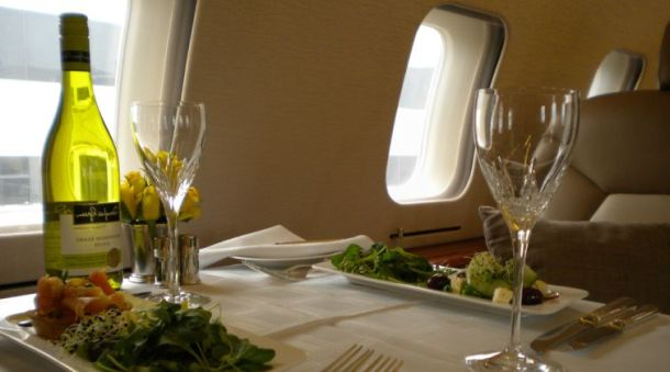 Private Jet In Flight Catering