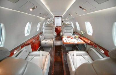Citation VII Interior - Private Jet Charter