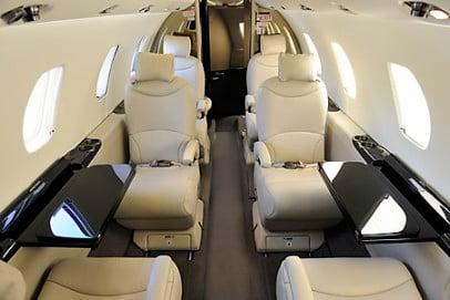 Citation XLS Interior - Private Jet Charter