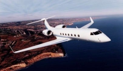 Gulfstream GV Exterior - Private Jet Charter